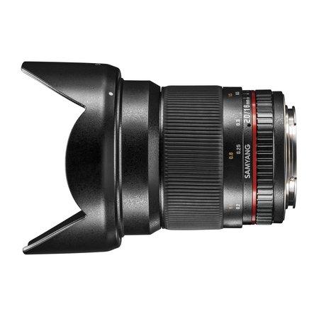 Samyang Camera Lens  MF 16mm F2,0 APS-C Nikon F AE