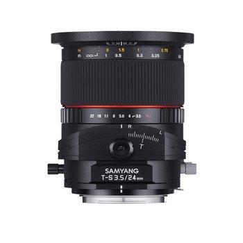 Samyang Camera Lens  MF 24mm F3,5 T/S Nikon F