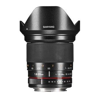 Samyang Objektive MF 20mm F1,8 Nikon F AE
