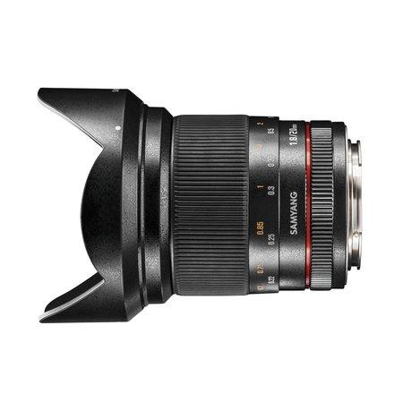 Samyang Objectief MF 20mm F1,8 Nikon F AE