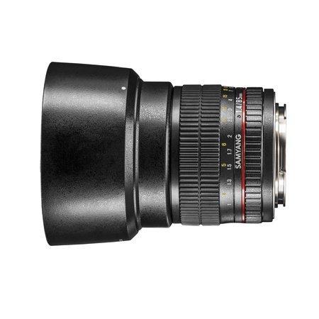 Samyang Objectief MF 85mm F1,4 AS IF UMC Nikon F AE