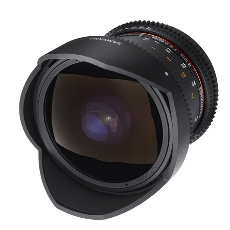 Samyang Objectief MF 8mm T3,8 Fisheye II Video APS-C Nikon F