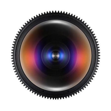 Samyang Objectief MF 12mm T3,1 Fisheye Video DSLR Nikon F