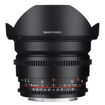 Samyang Objectief MF 16mm T2,2 Video APS-C II Nikon F