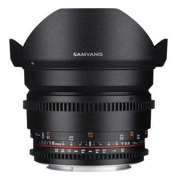 Samyang Camera Lens  MF 16mm T2,2 Video APS-C II Nikon F