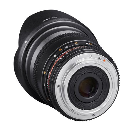 Samyang Objectief MF 16mm T2,2 Video APS-C II Nikon F