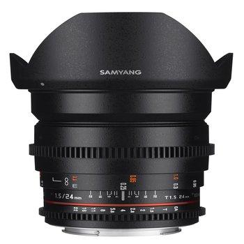 Samyang Camera Lens  MF 24mm T1,5 Video DSLR II Nikon F