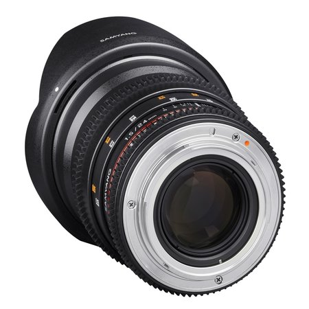 Samyang Objectief MF 24mm T1,5 Video DSLR II Nikon F