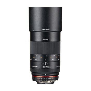 Samyang Camera Lens  MF 100mm F2,8 Makro DSLR Nikon F AE