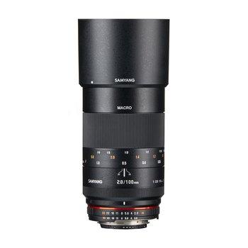 Samyang Objektive MF 100mm F2,8 Makro DSLR Nikon F AE