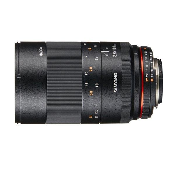Samyang Objectief MF 100mm F2,8 Makro DSLR Nikon F AE