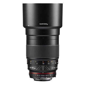 Samyang Objektive MF 135mm F2,0 DSLR Nikon F AE