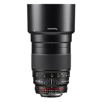 Samyang Camera Lens  MF 135mm F2,0 DSLR Nikon F AE