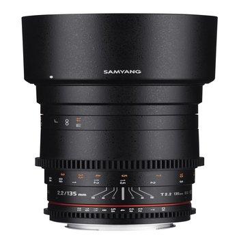 Samyang Objektive MF 135mm T2,2 Video DSLR Nikon F