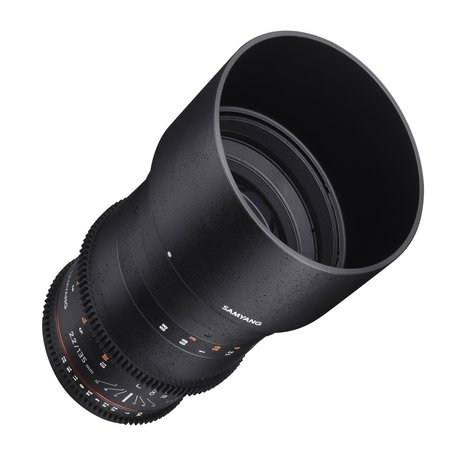 Samyang Objectief MF 135mm T2,2 Video DSLR Nikon F