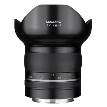 Samyang Camera Lens  XP 14mm F2.4 Nikon F Premium MF