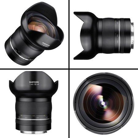 Samyang Camera Lens  XP 14mm F2.4 Nikon F Premium MF