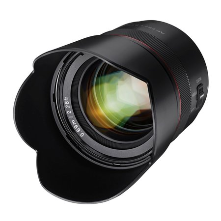 Samyang Camera Lens  AF Sony 75mm F1.8 FE - Tiny but Absolute