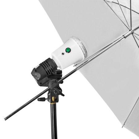 Walimex Pro 40W Synchro Flitslamp, wit