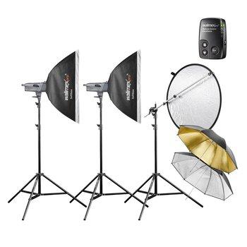 Walimex Pro Studio Lighting Kit VE Advance M 2/2 2SB2RS+
