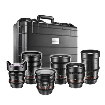 Walimex Pro Video DSLR Maximumshooter Lenses Set - Canon EF