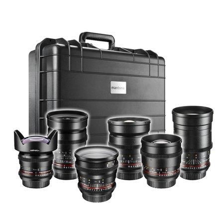 Walimex Pro Video DSLR Maximumshooter Objectieven Set - Canon EF