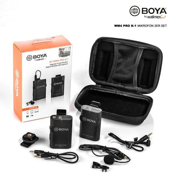 Walimex Pro Boya WM4 Pro K-2 Microphone Set of 2