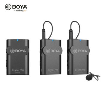 Walimex Pro Boya WM4 Pro K-2 Mikrofon 3er Set