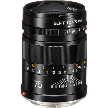 Kipon Lenses  Iberit 75/2,4 full-frame Sony E
