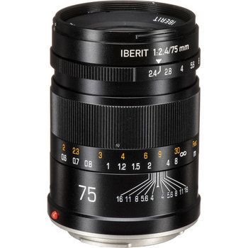 Kipon Lenses  Iberit 75/2,4 full-frame Fuji X