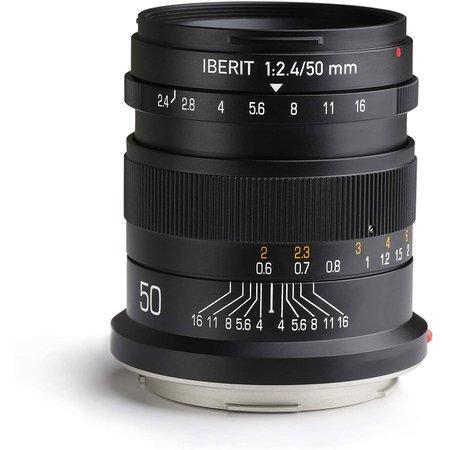 Kipon Objectief Iberit 50/2,4 full-frame Sony E
