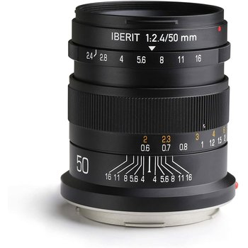 Kipon Lenses  Iberit 50/2,4 full-frame Fuji X