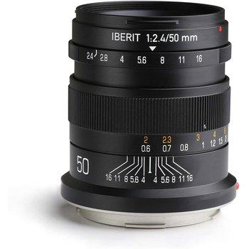 Kipon Objectief Iberit 50/2,4 full-frame Fuji X