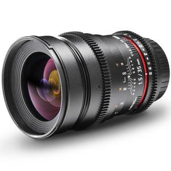 Walimex Pro Objektiv 35/1,5 Video DSLR Nikon F