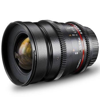 Walimex Pro Objectief 24/1.5 Video DSLR Nikon F Zwart