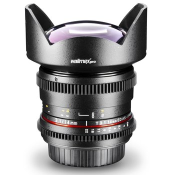Walimex Pro Objektiv 14/3,1 Video DSLR Nikon F