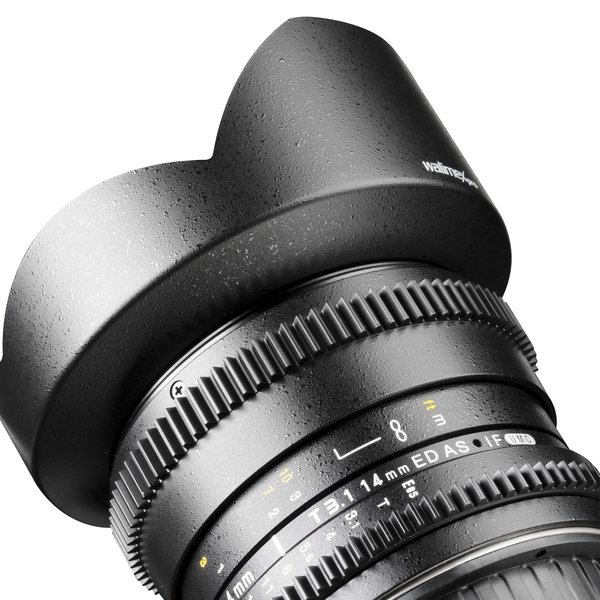 Walimex Pro 14/3.1 Video DSLR Nikon F black