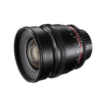 Walimex Pro Objektiv 16/2,2 Video APS-C Nikon F