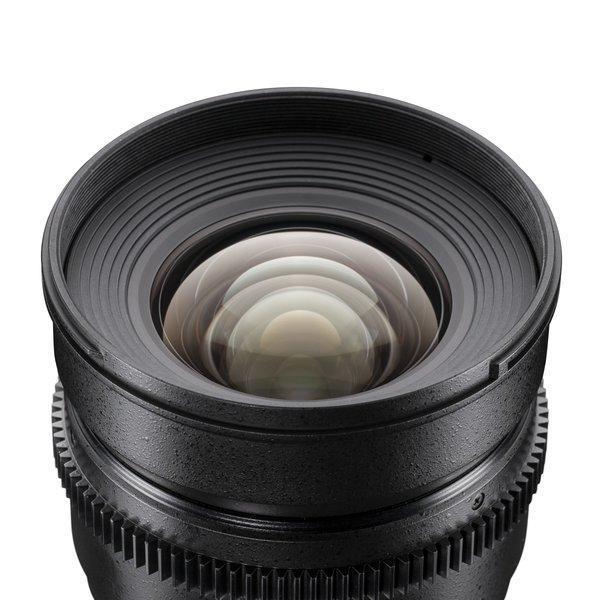 Walimex Pro Objectief 16/2,2 Video APS-C Nikon F black