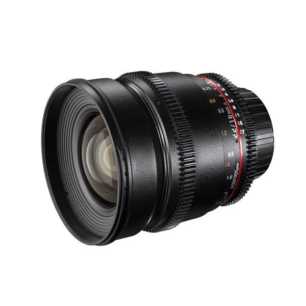 Walimex Pro 16/2,2 Video APS-C Sony E black