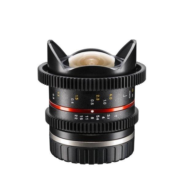 Walimex Pro Objectief 8/3,1 Fisheye Video APS-C Sony E black