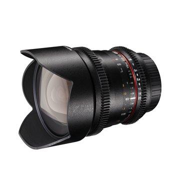 Walimex Pro Objektiv 10/3,1 Video APS-C Canon EF-S