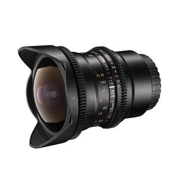 Walimex Pro Objektiv 12/3,1 Fisheye Video DSLR Canon EF
