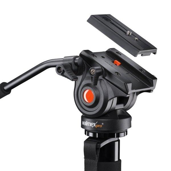 Walimex Pro Video-Einbein Statief Director Carbon