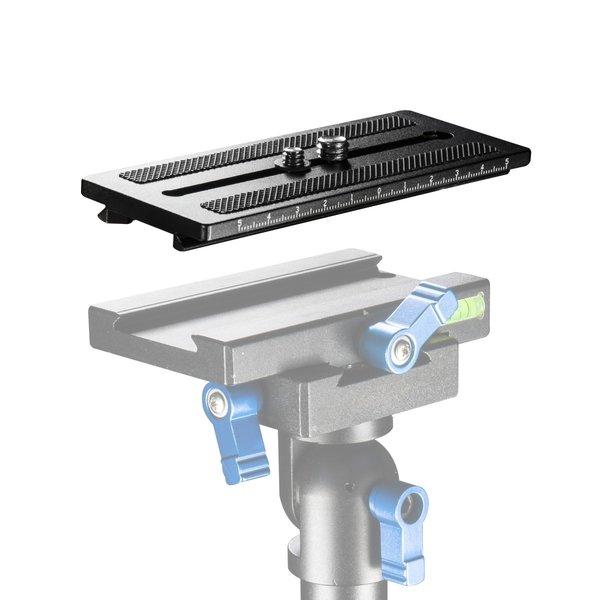 Walimex Pro Snelkoppelingsplaat voor StabyPod M 80 cm aluminium