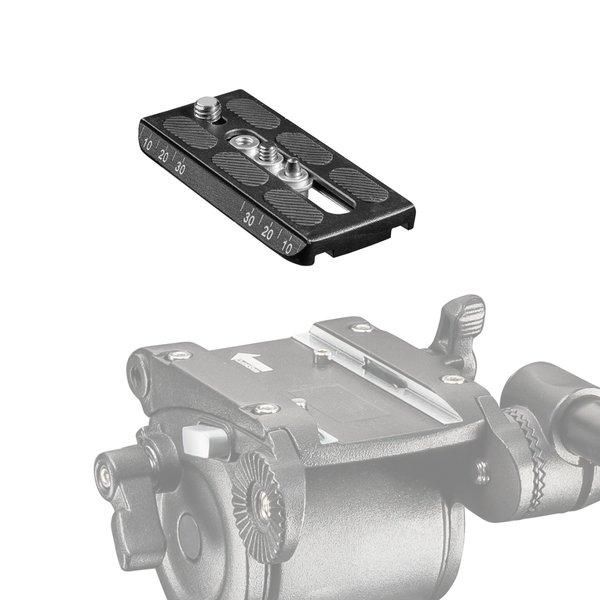 Mantona Snelkoppelingsplaat 100x50mm voor Dolomit 2100, 2200, 2300, 3300 und Director I