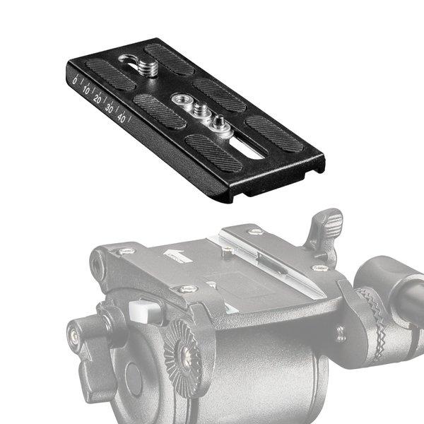 Mantona Snelkoppelingsplaat 130x60mm voor Dolomit 3100 3200 4000 5000