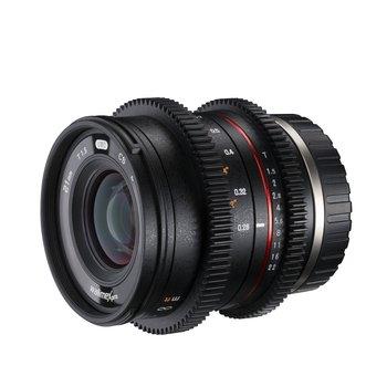 Walimex Pro Objektiv 21/1,5 Video APS-C Sony E