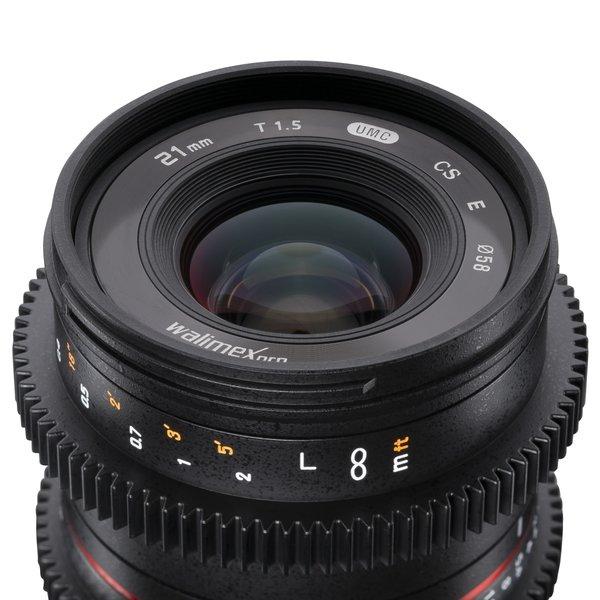 Walimex Pro Objectief 21/1,5 Video APS-C Sony E
