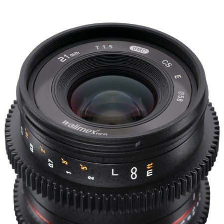 Walimex Pro Objectief 21/1,5 Video APS-C Canon M